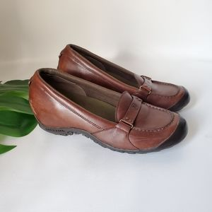 Merrell Leather Slip On Loafers